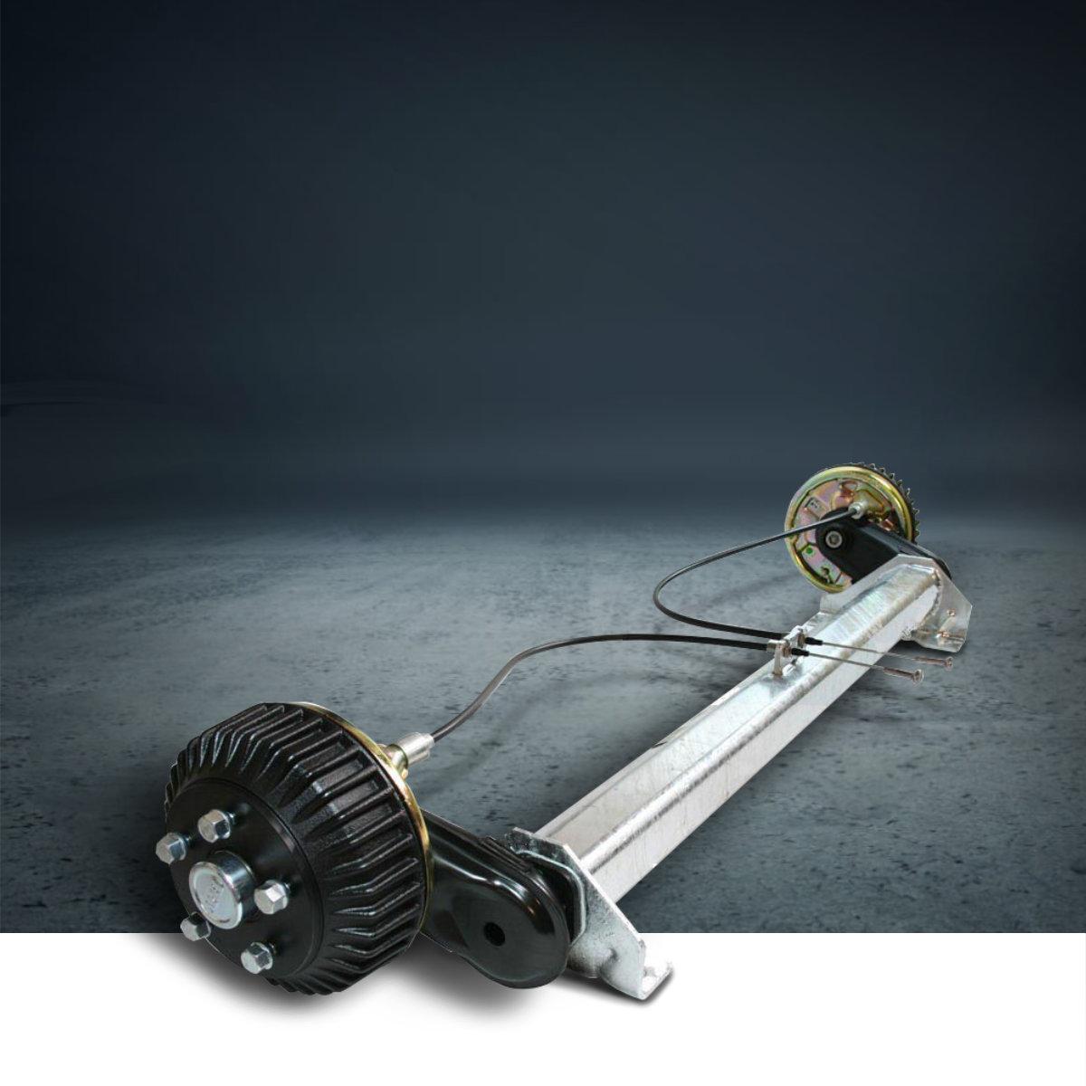 AL-KO osovine 1000 kg sa kočnicom