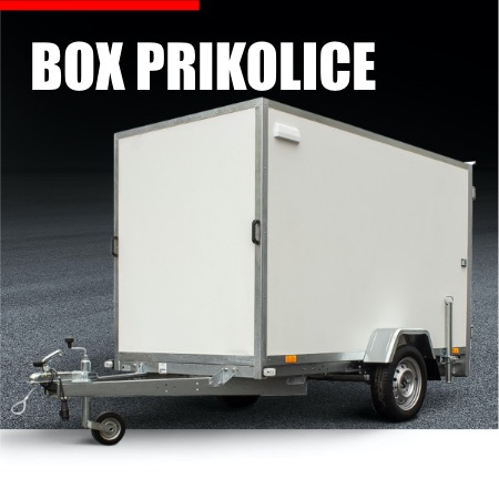 Auto prikolice 2 osovine-750 kg