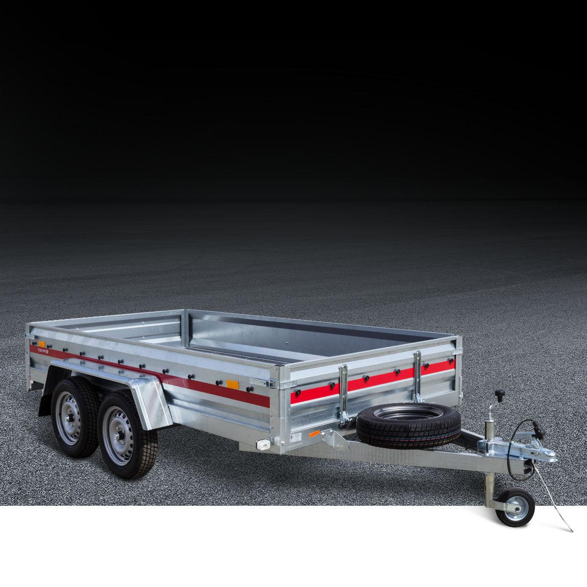 Auto prikolice na 2 osovine do 750 kg