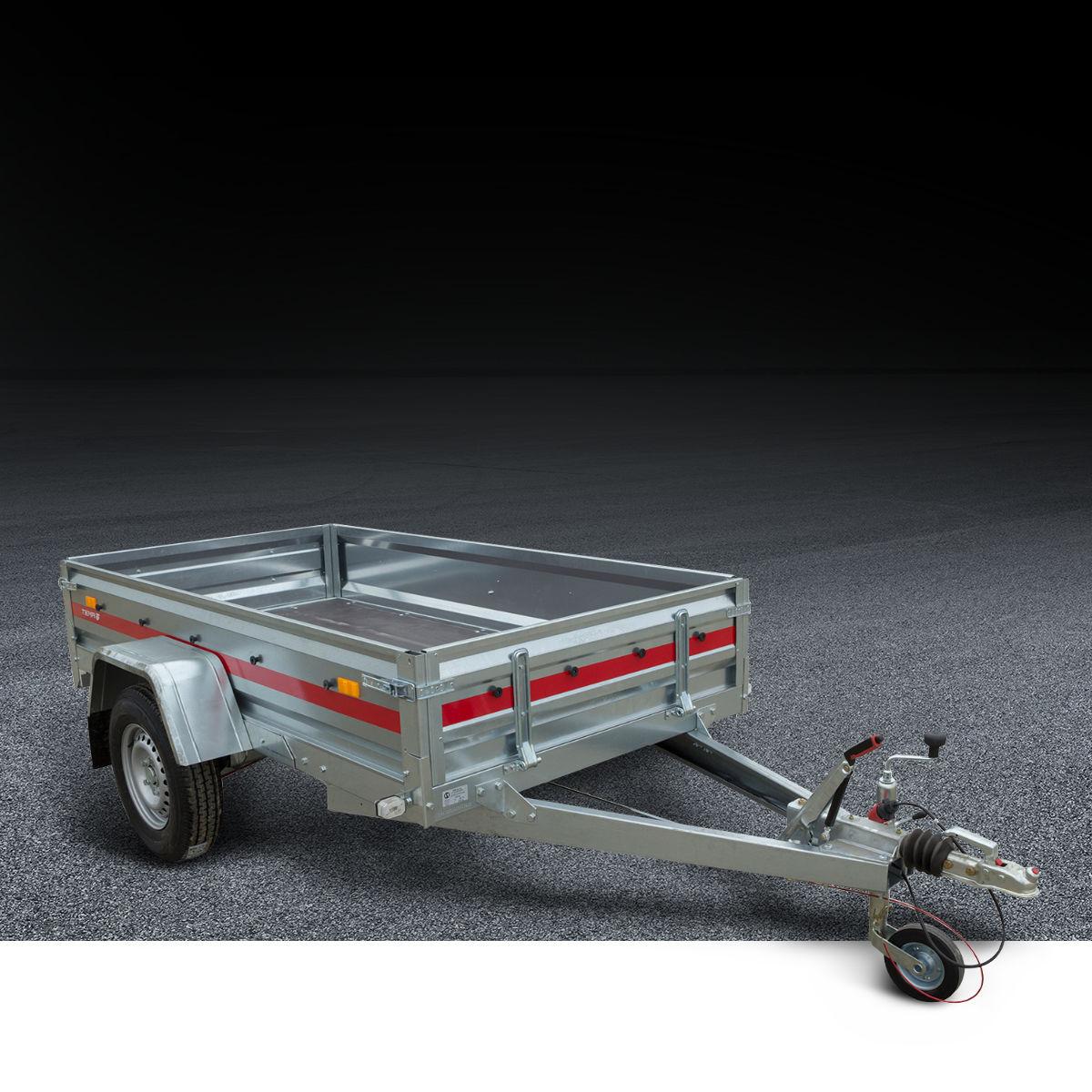 Auto prikolice sa kočnicom do 750 kg