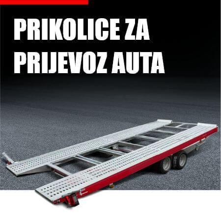 Prikolice za prijevoz auta