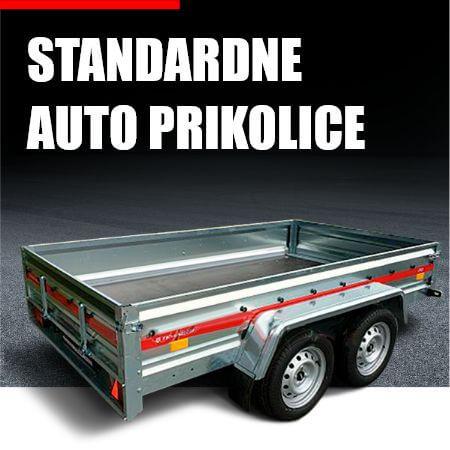 Standardne auto prikolice