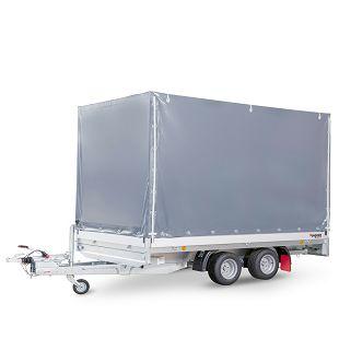 PHL 3700/17 T-AL 3500 kg+arnjevi+cerada 1600 mm
