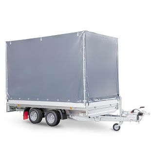 PHL 3700/17 T-AL 3500 kg+arnjevi+cerada 1900 mm