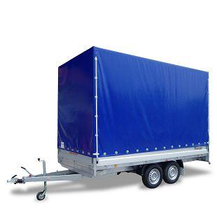 PHL 4030/17 T-AL 3500 kg+arnjevi+cerada 1900 mm