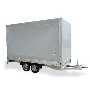 PHL 4030/20 T-AL 3500 kg+arnjevi+cerada 1900 mm