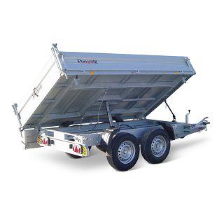 3-SKS 4100/20 T-AL-3500 kg el.hidraulična pumpa/gume 185R14C