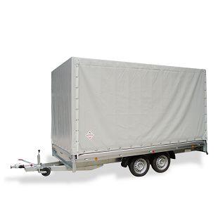PHL 4030/20 T-AL 2600 kg+arnjevi+cerada 1600 mm