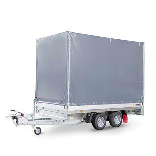PHL 3100/17 T-AL 3500 kg+arnjevi+cerada 1900 mm
