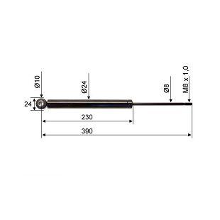 AMORTIZER AL-KO 120SR 390 mm Valeryd