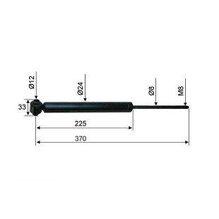 AMORTIZER HAHN ABR 15,3 370 mm