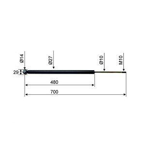 AMORTIZER SCHLEGL SFV35 700 mm