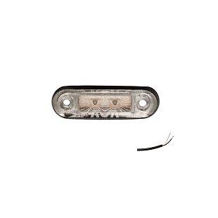 LED svjetlo pozicijsko 78x22x18 bijelo
