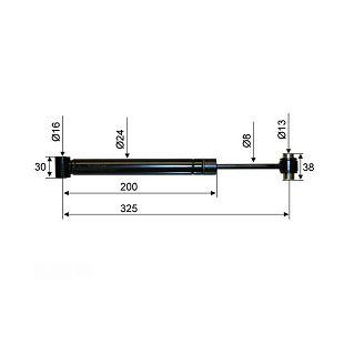AMORTIZER AL-KO 161 VB/VB2 325 mm