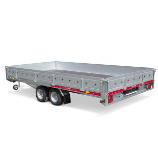 CAR PLATFORM 4021 2700 kg+aluminijske stranice
