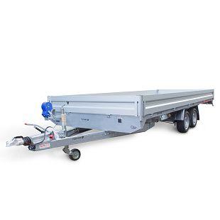 CAR PLATFORM 5121 S 3000 kg+aluminijske stranice